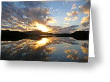 Sunrise Solice Greeting Card