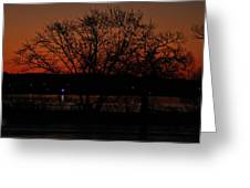 Sunrise Vi Greeting Card