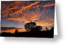 Sunset 07 26 12 Greeting Card
