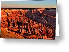 Sunset At Cedar Breaks Greeting Card