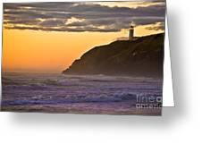 Sunset At North Head II Greeting Card