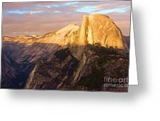 Sunset At The Dome Greeting Card
