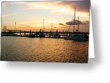 Sunset Bay Greeting Card