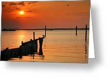 Sunset Bay V Greeting Card
