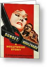 Sunset Boulevard Greeting Card