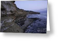 Sunset Cliffs Greeting Card