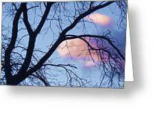 Sunset Cloud Color 1 Greeting Card