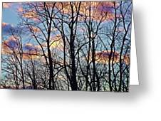 Sunset Cloud Colors 5 Greeting Card