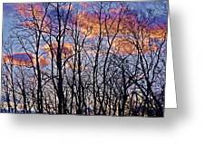 Sunset Cloud Colors 9 Greeting Card