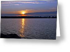 Sunset Egg Harbor Greeting Card