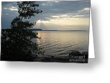 Sunset In Door County Greeting Card