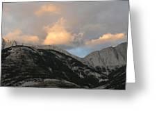 Sunset In Jasper Greeting Card