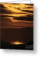 Sunset Ipanema  Greeting Card