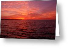 Sunset Iv Greeting Card