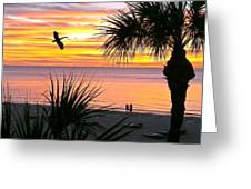 Sunset Majesty Greeting Card