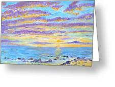 Sunset Maui Greeting Card