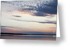 Sunset On Lovewell Greeting Card