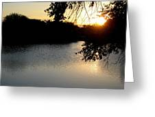 Sunset Over Paradise  Greeting Card