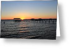 Sunset Over St Johns Greeting Card