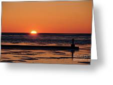 Sunset Park Petoskey Mi Greeting Card