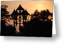 Sunset Place Vouquelin Greeting Card