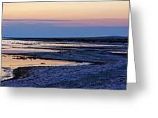 Sunset Salton Sea North Greeting Card