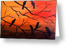 Sunset Secrets Greeting Card