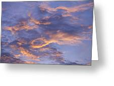 Sunset Sky Over Nipomo, California Greeting Card