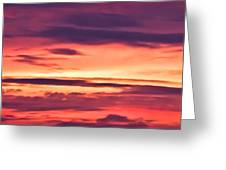 Sunset Skyscape Greeting Card