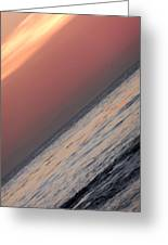 Sunset Slope Greeting Card