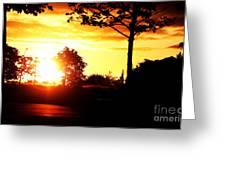 Sunset Soon Greeting Card