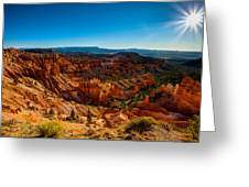 Sunset Sunrise Greeting Card by Chad Dutson