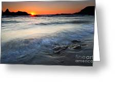 Sunset Uncovered Greeting Card