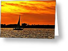 Sunset Xii Greeting Card