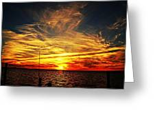 Sunset Xiii Greeting Card