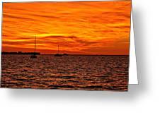 Sunset Xix Greeting Card