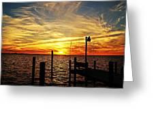 Sunset Xv Greeting Card