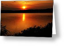 Sunset Xvi Greeting Card