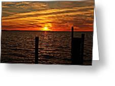 Sunset Xvii Greeting Card
