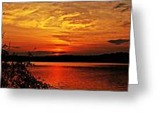 Sunset Xxiv Greeting Card