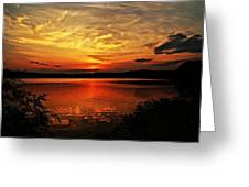 Sunset Xxv Greeting Card