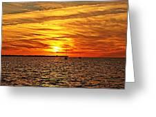 Sunset Xxxi Greeting Card