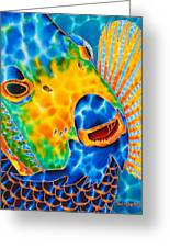 Sunshine Angelfish Greeting Card by Daniel Jean-Baptiste