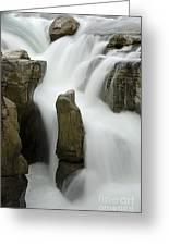 Sunwapta Falls 2 Greeting Card