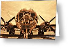 Superfortress Greeting Card