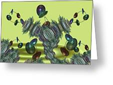 Superplant Greeting Card by Ricky Kendall