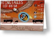 Supporting Eagles - Oif 08-10 Greeting Card