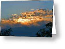 Supreem Sunset I Greeting Card