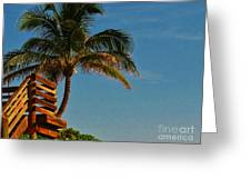 Surf Lookout Greeting Card