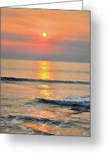 Surf Rise 3 Greeting Card